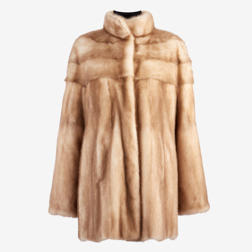elegant appearance buy delicate colors Mink Coat 001-16